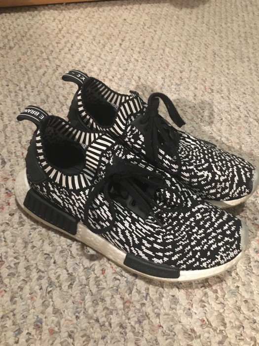 737a0be2d6718 Adidas Adidas NMD R1 Sashiko Black Size 8 - Low-Top Sneakers for ...