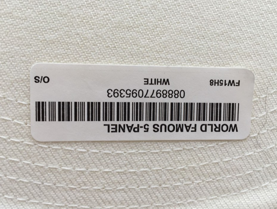 bda9ec78e39 Supreme NEW Supreme World Famous 6-Panel White Snapback Hat Size ONE SIZE -  3