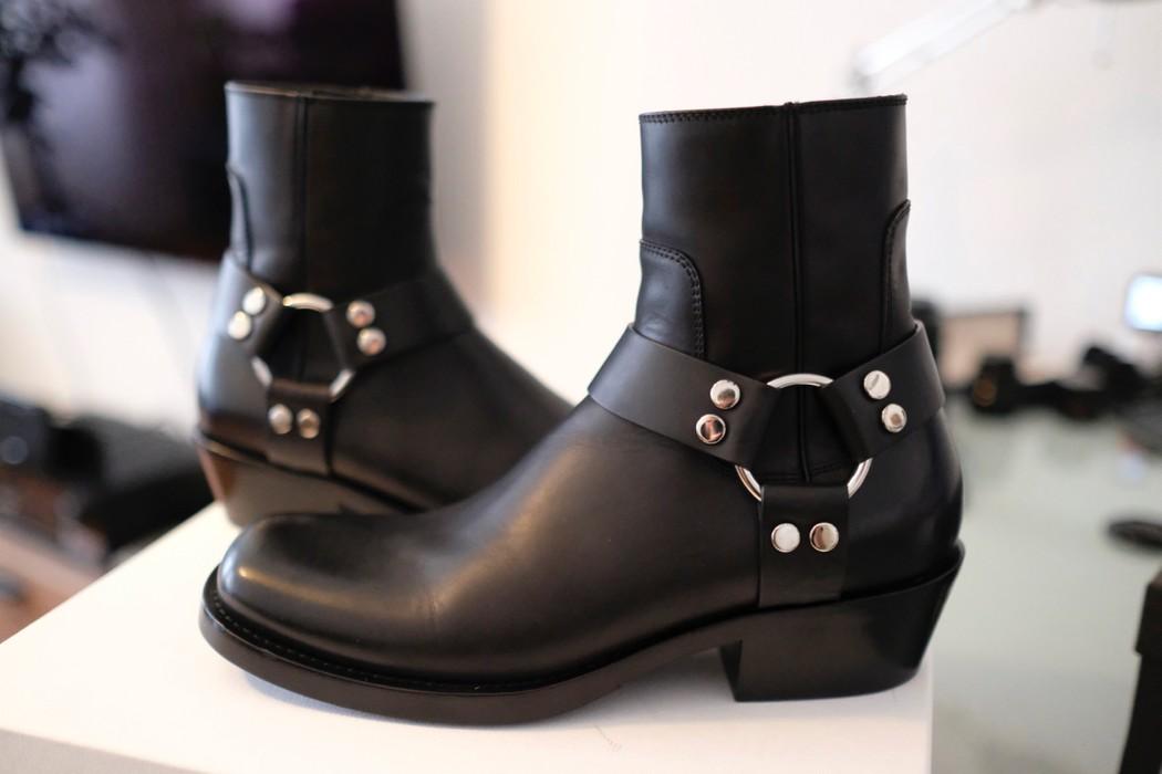 f3bff89d2b4b Balenciaga Balenciaga Triple S Suede Harness Boots 41 Vetements 100 ...