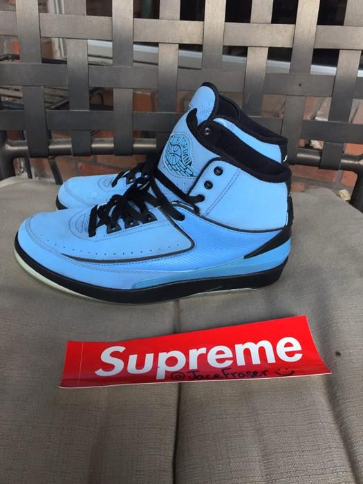3ee672574fb9 Jordan Brand Nike Air Jordan 2 Candy Pack Unc Light Blue Size 8 - Hi ...