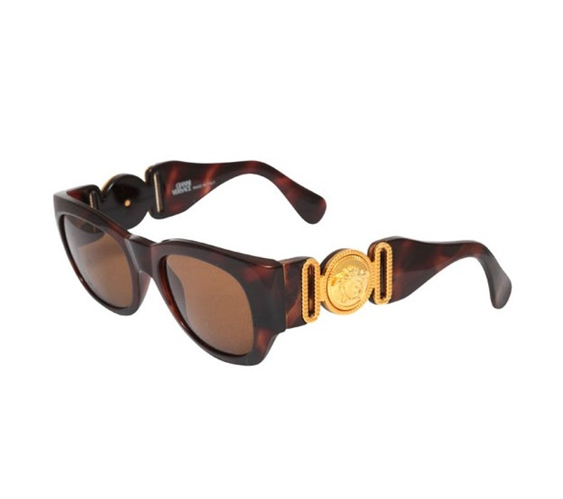 600703bc8a4 Versace. VINTAGE GIANNI VERSACE SUNGLASSES MOD 413 A COL 900. Size  ONE SIZE