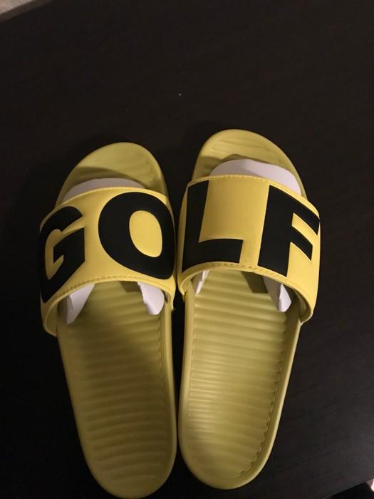 076b9493f80a Golf Wang Golf Wang Flip Flops Yellow Size 10 - Sandals for Sale ...