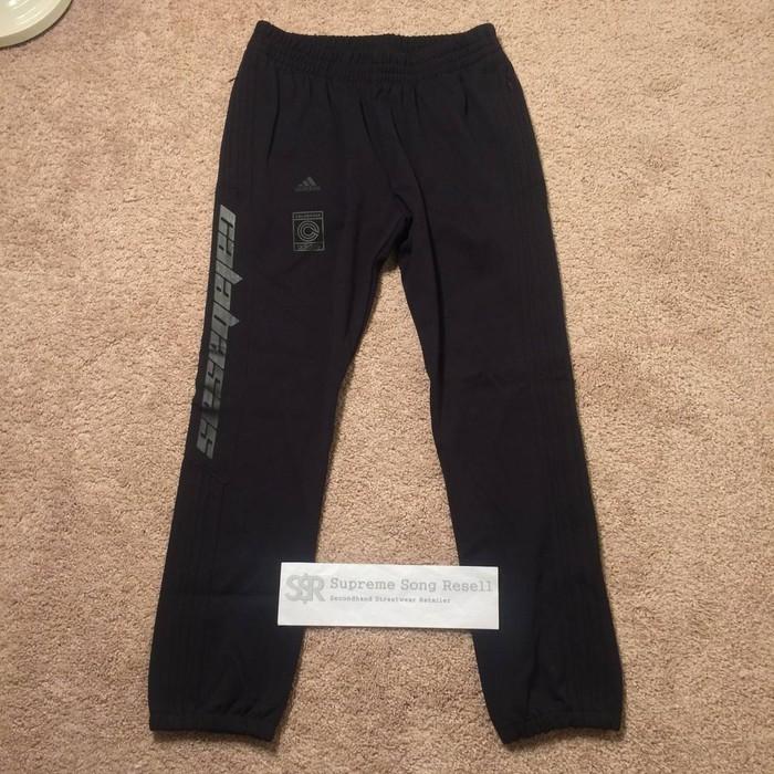 216dab6d876e5 Adidas YEEZY CALABASAS TRACK PANTS BLACK SMALL Size 28 - Sweatpants ...