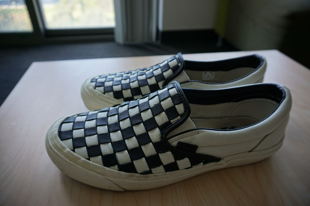 aaf2a2bf9e Vans. Vans Vault OG 50th Anniversary Slip-On LX Checkerboard   Checkered  Past  . Size  US 8.5   EU 41-42