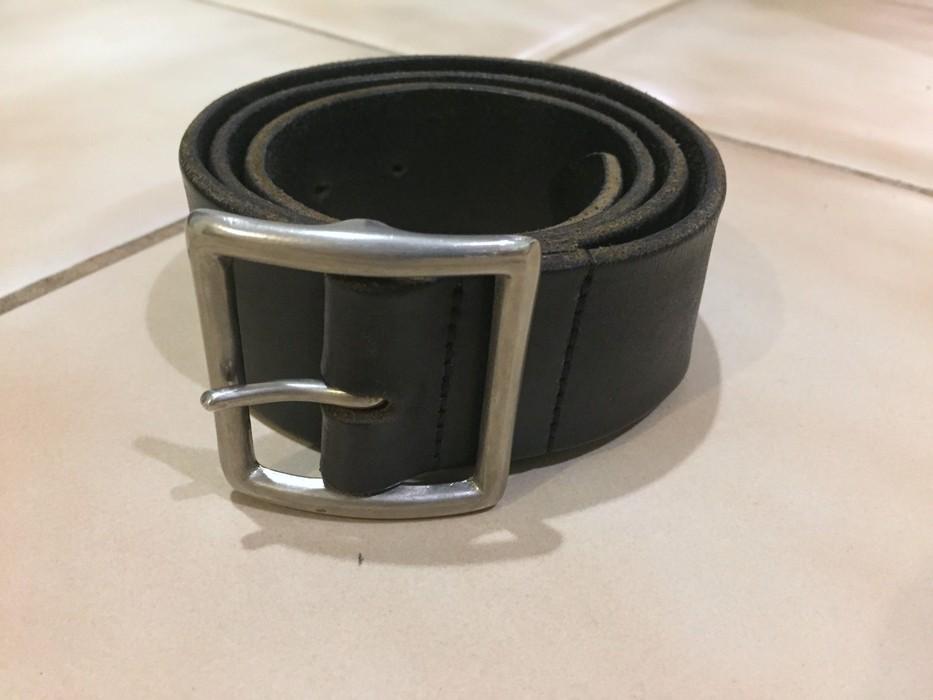 d0bb3dedcea4 Rrl black leather belt Size 32 - Belts for Sale - Grailed
