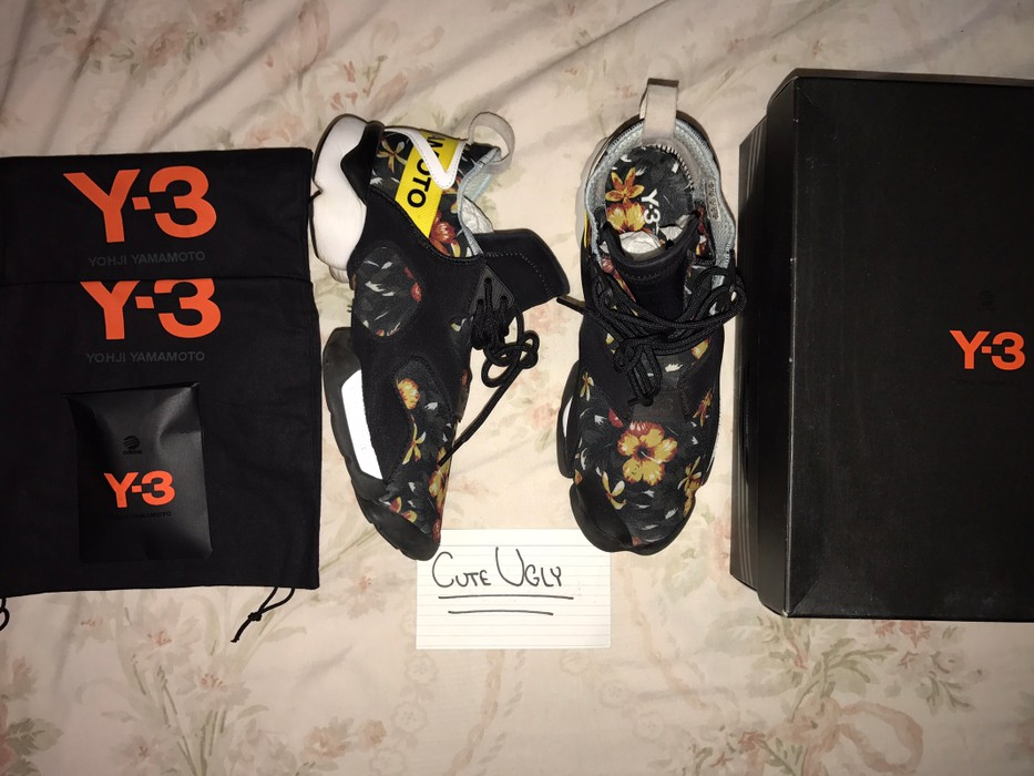 ef9741d60 Y-3 Y3 Kohna - Floral Print Size 9 - Low-Top Sneakers for Sale - Grailed