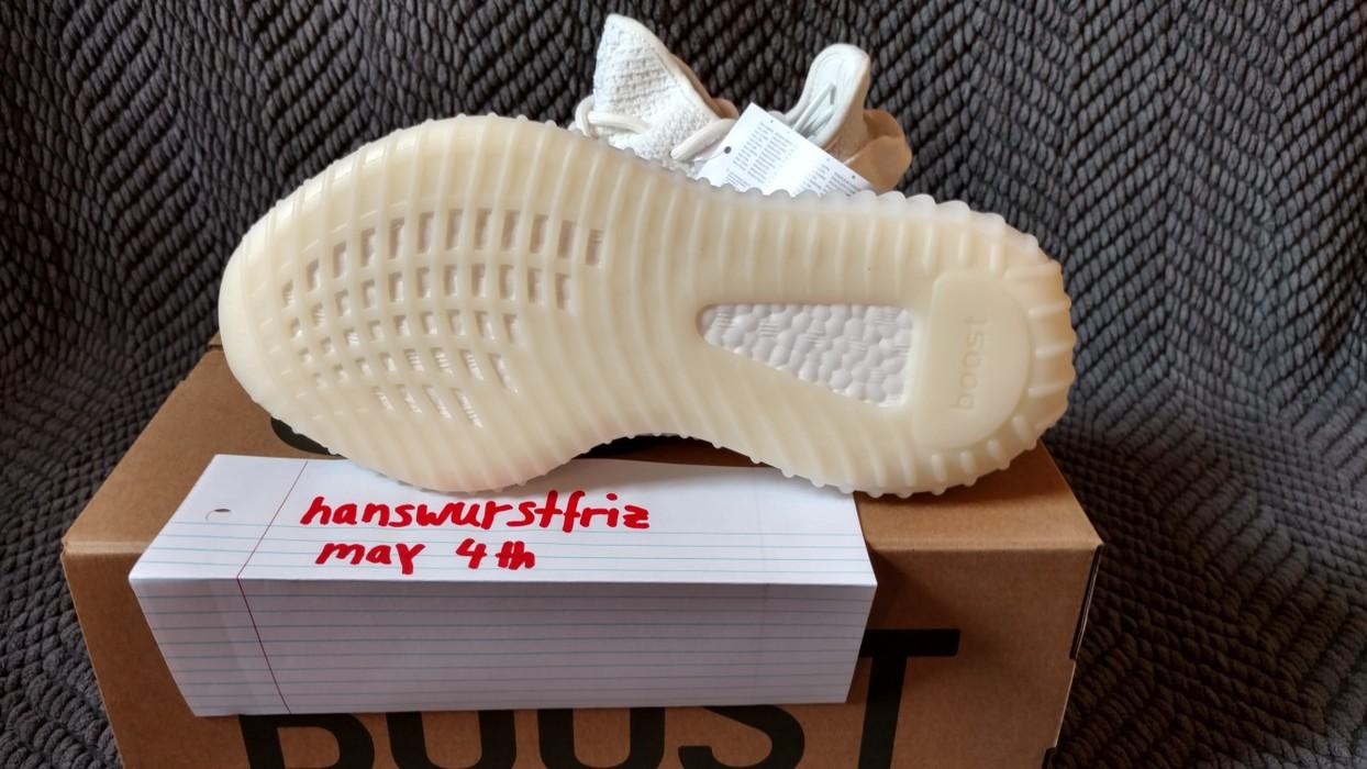 5d6b893a3 Adidas Kanye West Yeezy Boost 350 V2 Cream White SIZE EU 36 2 3 ...