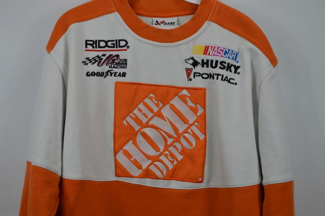 8e822ab0bd4 Vintage Vintage CHASE AUTHENTICS Mens Medium Home Depot Tony Stewart  Crewneck Sweatshirt Size US M