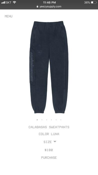 aa4dfdb85f3f2 Adidas Calabasas Sweatpants Luna Size M Size 32 - Sweatpants ...