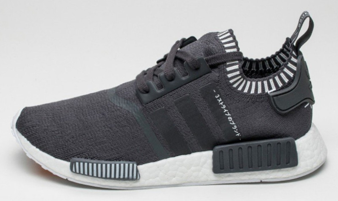 d738559ffbef7 Adidas Adidas Nmd R1 PK Japan Charcoal Grey Size 11 - for Sale - Grailed
