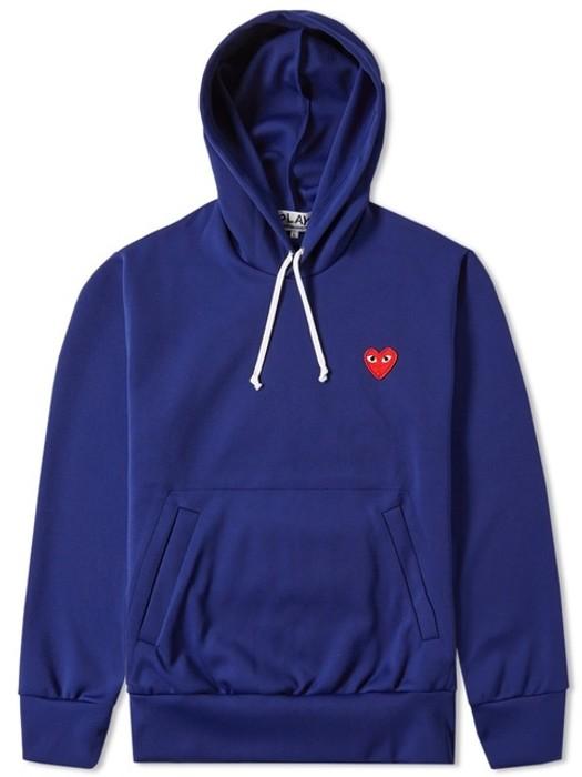 3f1dec7f8c391 Comme des Garcons CDG Royal Blue Hoodie Size xl - Sweatshirts ...