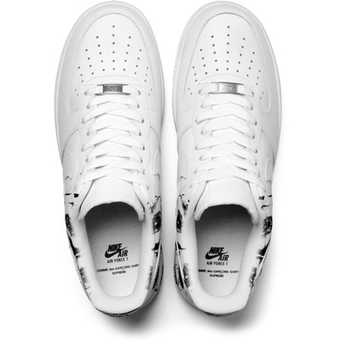 7a011940ed41 Supreme Supreme x Comme Des Garcons SHIRT x Nike Air Force 1 Low (SUP CDG