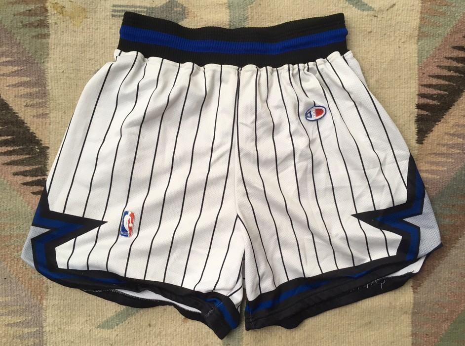 8270ba4485c2 Champion Vintage 90s Champion Orlando Magic NBA Basketball Shorts Size US 33  - 1
