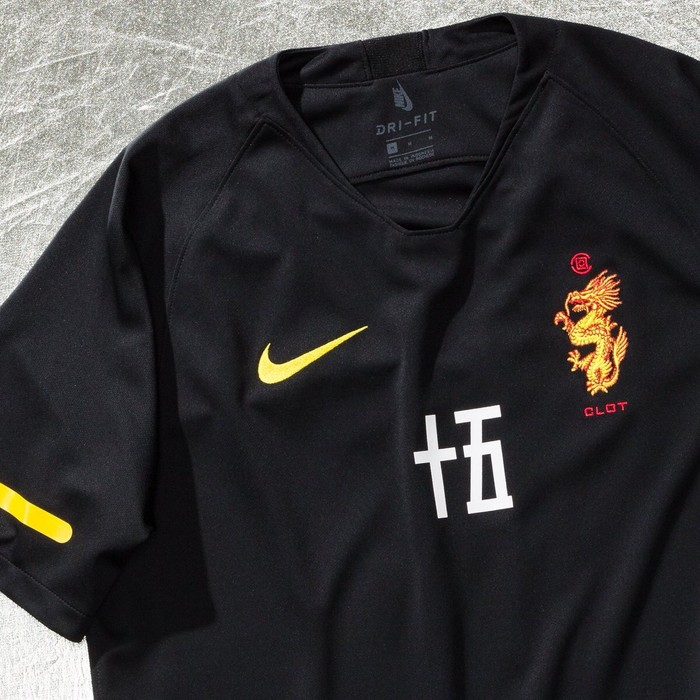 ea55549ff Nike Nikelab x Clot World Cup Mens Soccer Jersey Black Size Medium NEW Size  US M