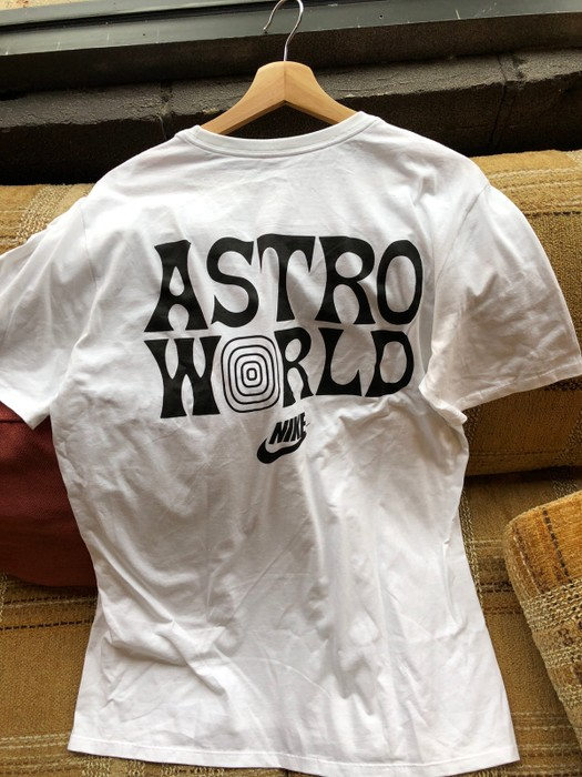 19f77f78 Nike Astroworld X Nike Tee Size l - Short Sleeve T-Shirts for Sale ...