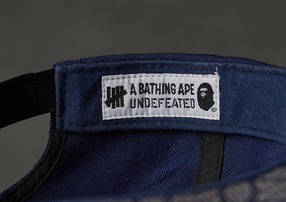 781ac3ad6ea Bape A BATHING APE x UNDEFEATED x STARTER COLLABORATION CAP Size ONE SIZE -  2