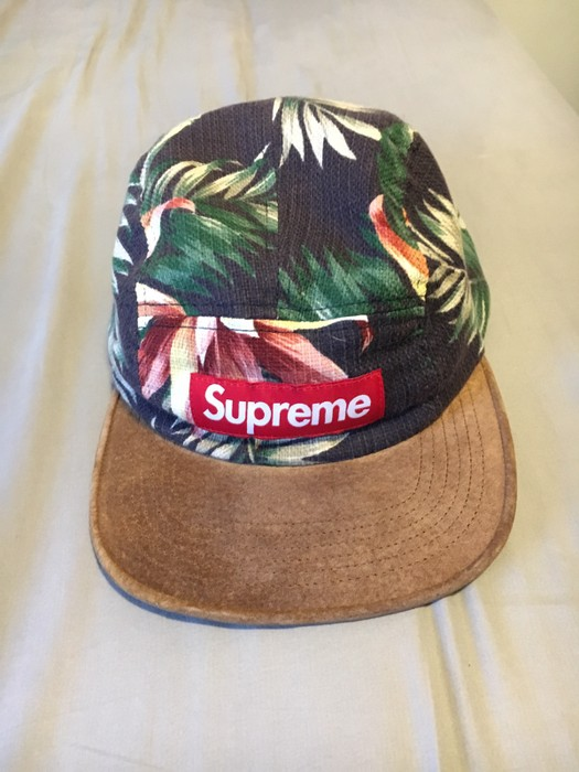 051bc2c119d Supreme Floral Camp Cap Size one size - Hats for Sale - Grailed