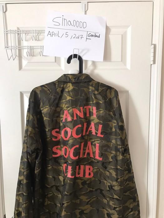 3c1a5fe3f269 Antisocial Social Club Anti Social Social Club Jacket
