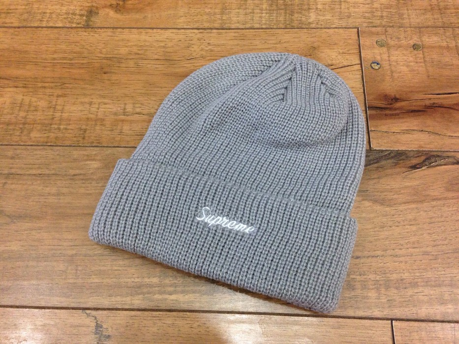 b7f87db2ef875 Supreme Loose Gauge Beanie - GREY Size one size - Hats for Sale ...