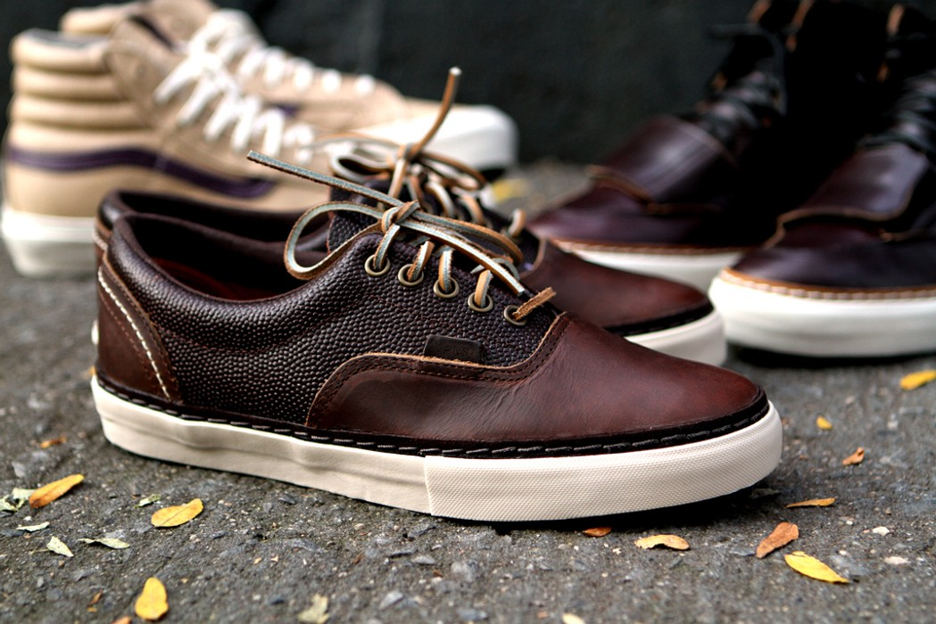 6a4c0054204040 Vans x Horween Leather - Era HW LX Size 10 - for Sale - Grailed