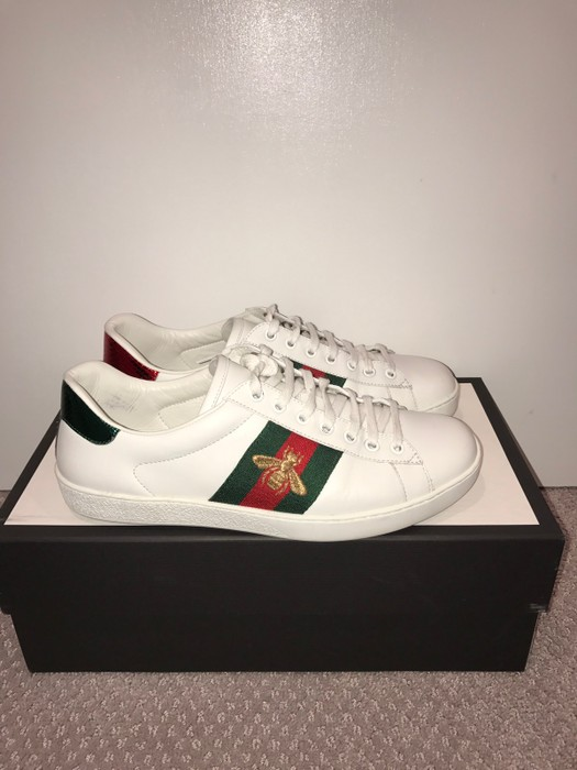 06fa2bacaae Gucci Gucci Ace Embroidered Bee Sneakers Size 8 - Low-Top Sneakers ...