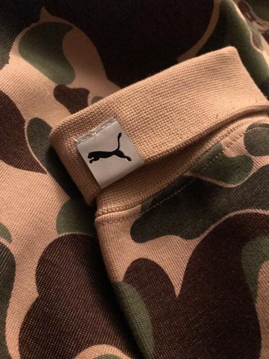 0465a80e07e8 Bape Bape Puma collaboration Pullover hoodie shark Size US L   EU 52-54