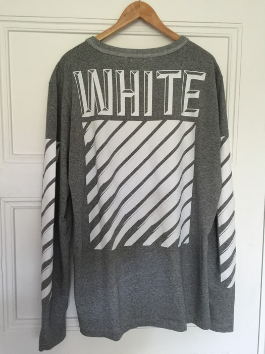 1ff75b7686cf Off-White Grey 3D Longsleeve Tee Size xl - Short Sleeve T-Shirts for ...