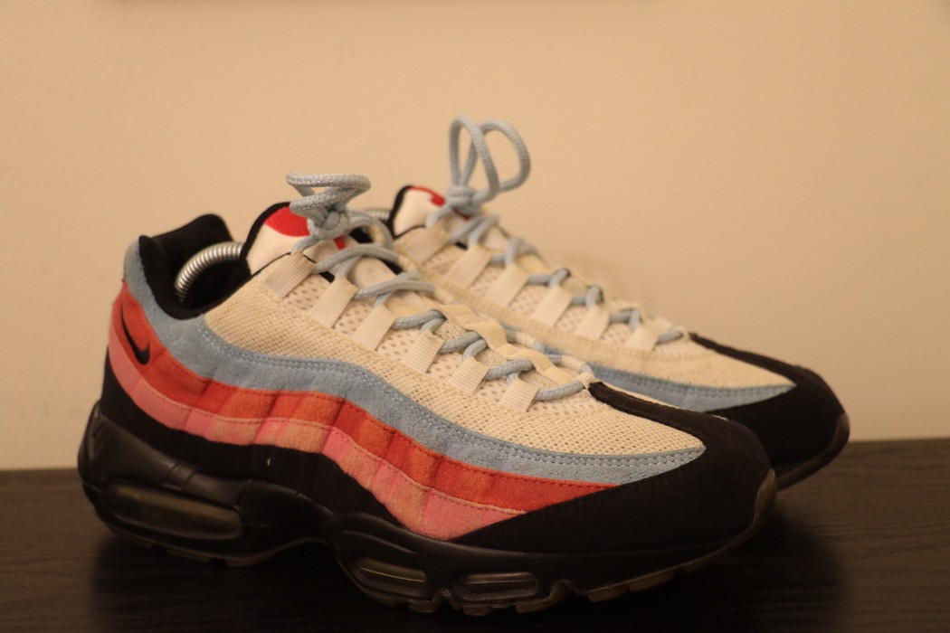 Nike Nike Air Max 95 x Parra  The Running Man  Size 8.5 - Low-Top ... 44787149d