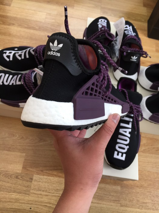 ff5181b26e137 Adidas Human Race NMD Holi Black purple Size 10.5 - Low-Top Sneakers ...