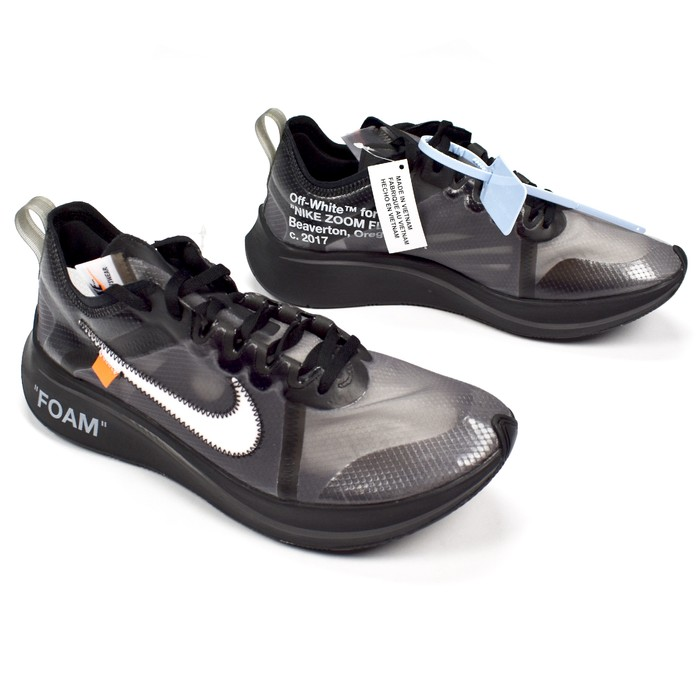 b2f9a654b974 Nike Off White Zoom Fly Black DS Size 9 - Low-Top Sneakers for Sale ...