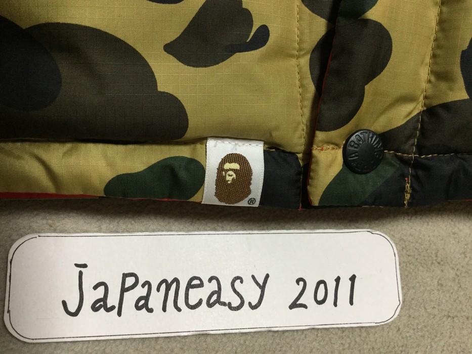 7fe3b7d5e223 Bape BAPE 1ST CAMO REVERSIBLE DOWN VEST Size m - Vests for Sale ...