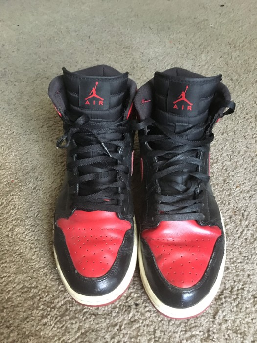 be13abd6f84c77 Jordan Brand CDP Bred 1 Size 11 - for Sale - Grailed