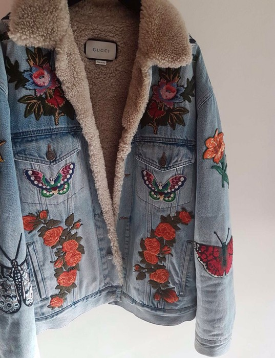 f2c66ddfe721 Gucci Gucci Shearling Denim Jacket Size m - Denim Jackets for Sale ...