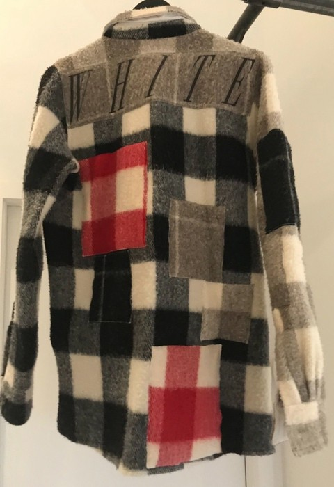 fb7bc720fbb6 Off-White patchwork flannel Size m - Shirts (Button Ups) for Sale ...
