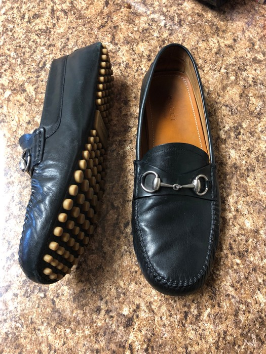 6677f4fdb7b Gucci Gucci Kangaroo Drivers Size 10.5 - Casual Leather Shoes for ...