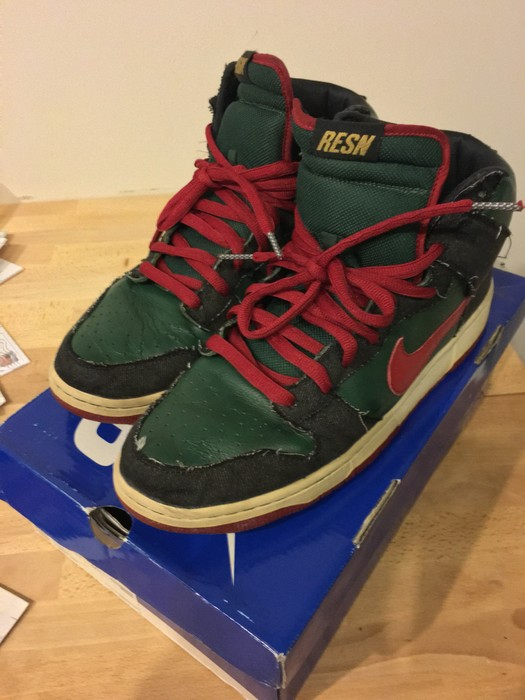 353db13201fd Nike SB Dunk High RESN (Gucci) Size 12 - Hi-Top Sneakers for Sale ...