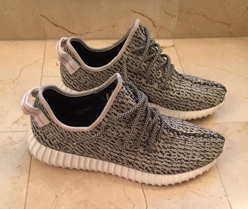 2910f71deab3b Adidas Kanye West Adidas Yeezy Boost 350 Turtle Dove OG Size 12 Grey White  AQ4832 100