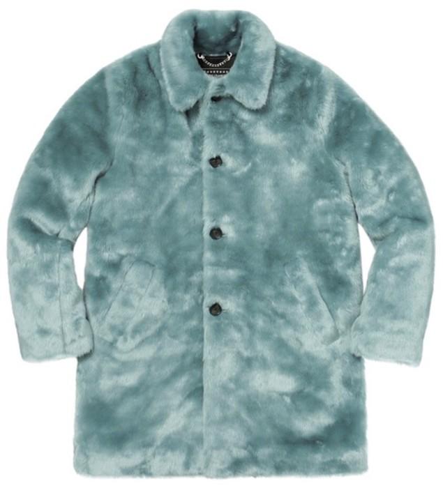 70018669269f Supreme Supreme X Hysteric Glamour Faux Fur Coat Size US L   EU 52-54