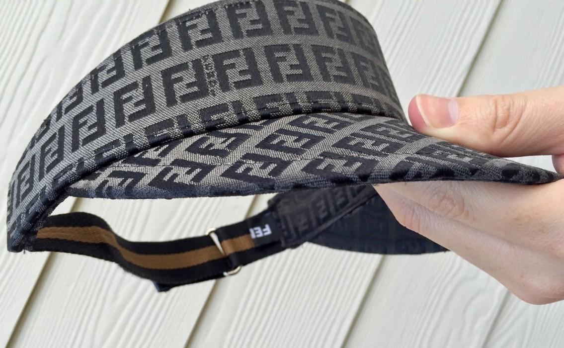 7d4ad881d61 Fendi Monogram Canvas Velcro Visor Hat Size one size - Hats for Sale ...