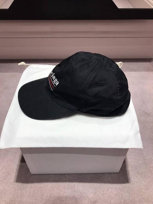 88cc5943bb2 Balenciaga 2017 campaign black bernie sander hat Size one size ...