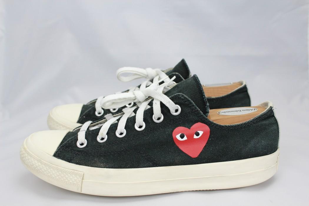 1b8d28d96b2b Converse CDG Low Tops Black Little Heart OG 1.0 Size 8 - Low-Top ...