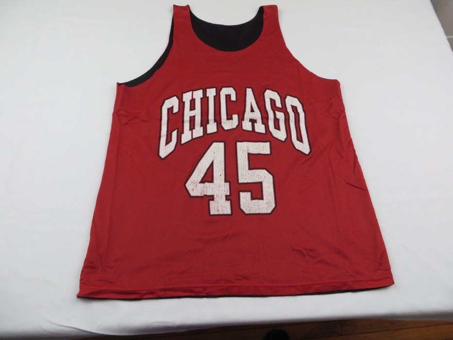 153b4a70157324 Vintage Vintage Mens Michael Jordan Chicago Bulls  45 Jersey Medium Size US  M   EU