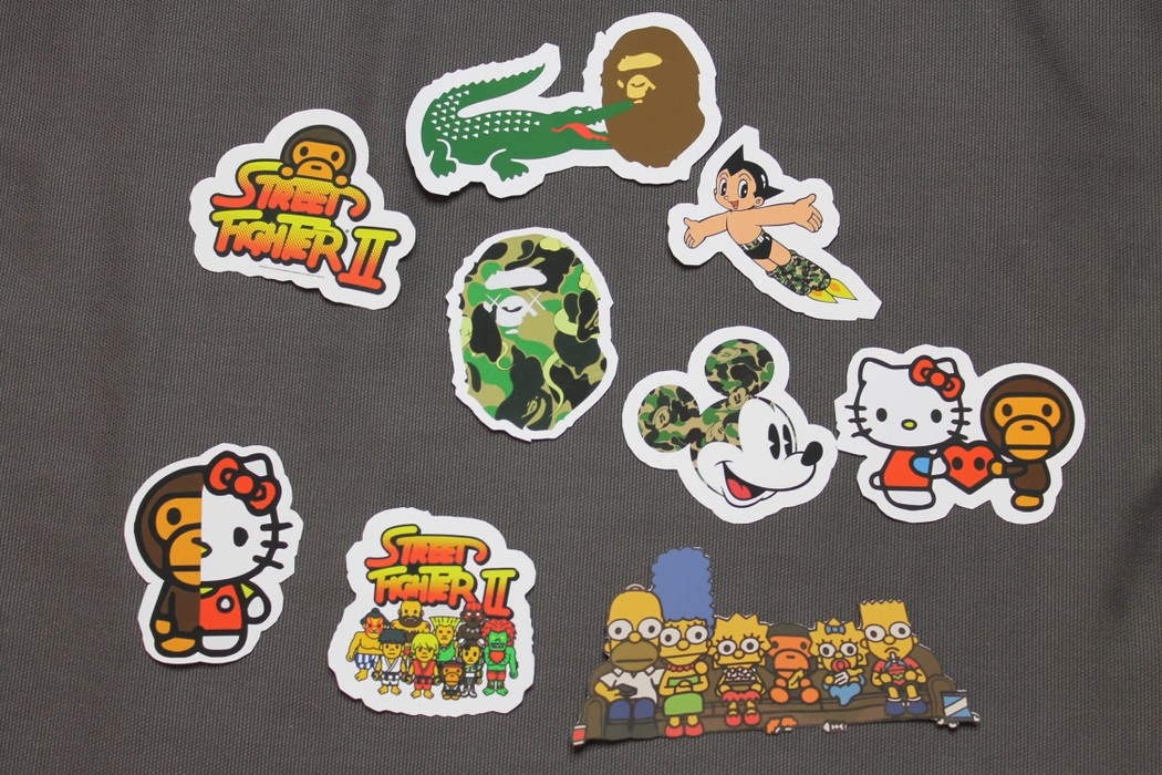 Bape Sticker Pack