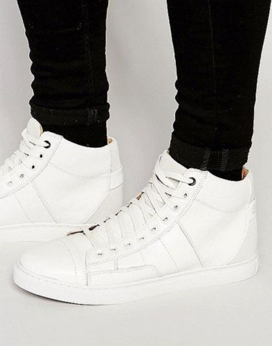 8d25d45adf30  220 Authentic Rare G-STAR RAW Men s Leather High Top Stanton Sneakers Shoes