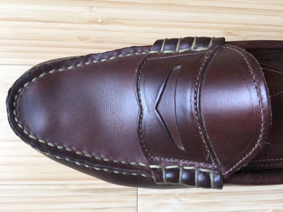 9779a288ac6 Oak Street Bootmakers Brown Beefroll Penny Loafer Crepe Sole Size US 8   EU  41 -