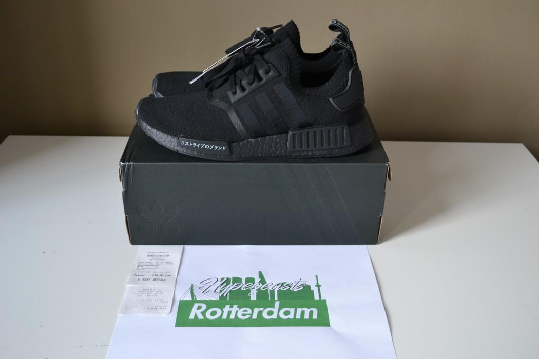 44c5edaca74eb Adidas Adidas Originals NMD R1 PK Primeknit Triple Black Japan 10 US Size US  10