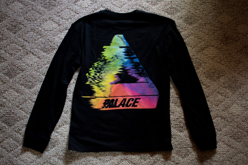 2067063f323b Palace Tri-Smudge L S Size s - Long Sleeve T-Shirts for Sale - Grailed