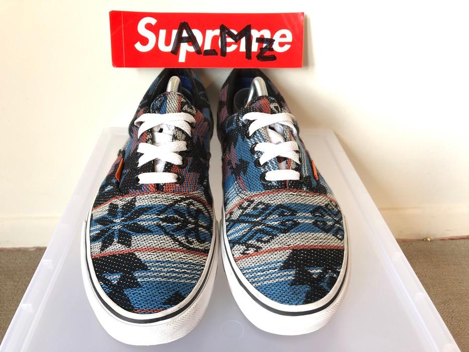 """11b490216b Vans Vans Era Aztec """"Tribal"""" Inca Blue Size 10 - Low-Top Sneakers ..."""