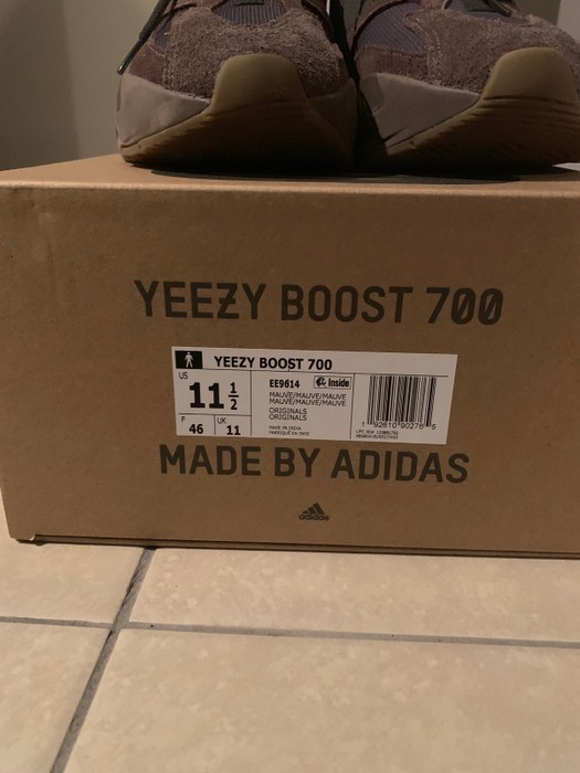 83f1d142475c8 Adidas Yeezy Boost 750 Mauve Size 11.5 - Low-Top Sneakers for Sale ...