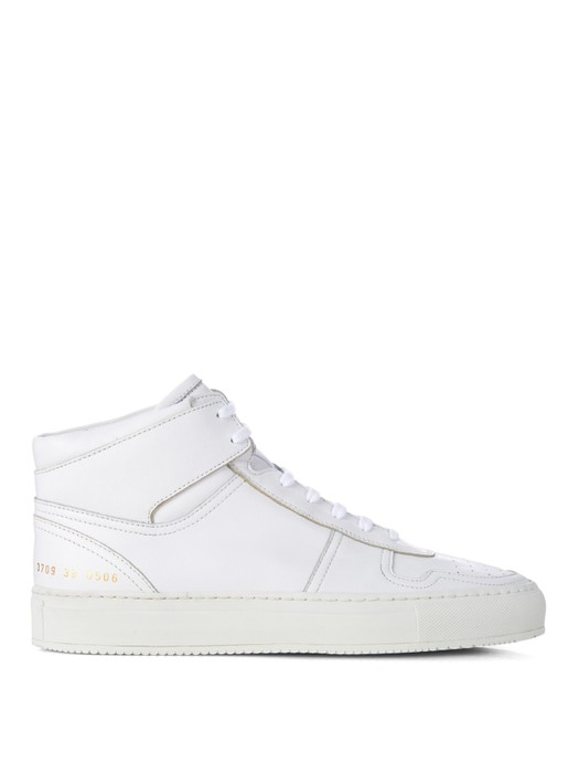 ec50b80aad5 Common Projects Bball Leather High-top Trainer